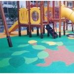 어린이놀이시설 탄성포장재